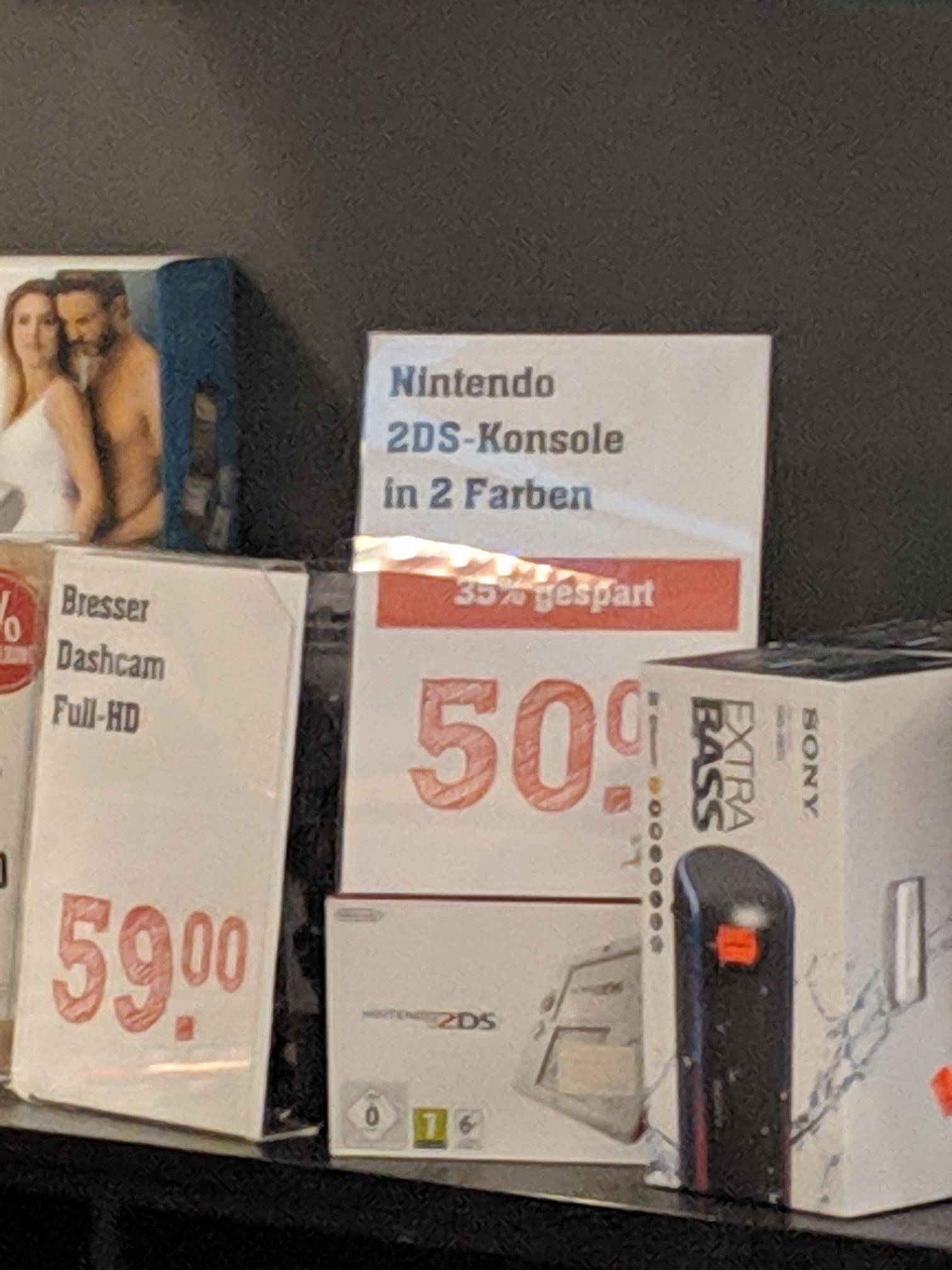 Nintendo 2DS - Lokal? Rewe Darmstadt Center
