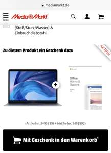 MacBook Air 128GB + Office Home&Student