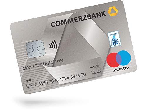 Amazon: Commerzbank Girokonto kostenlos, 125 € Bonus, 100 € bei Weiterempfehlung, KWK
