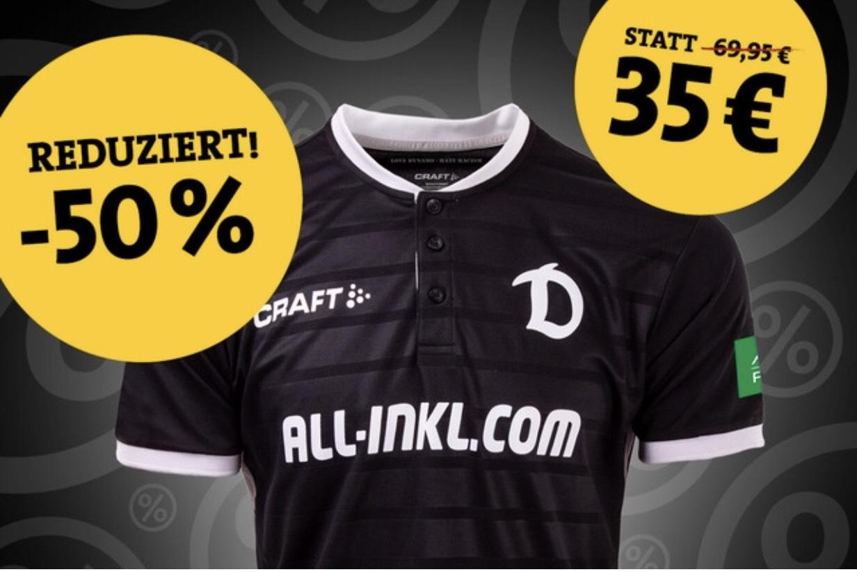Lokal (Fanshop) Dynamo Dresden CRAFT Torwarttrikot 2018/19 schwarz