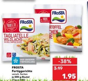 [Kaufland ab 23.04] Verschiedene Frosta TK-Fertiggerichte im 500g Beutel für 1,95€ wie zb. Tagliatelle Wildlachs etc..