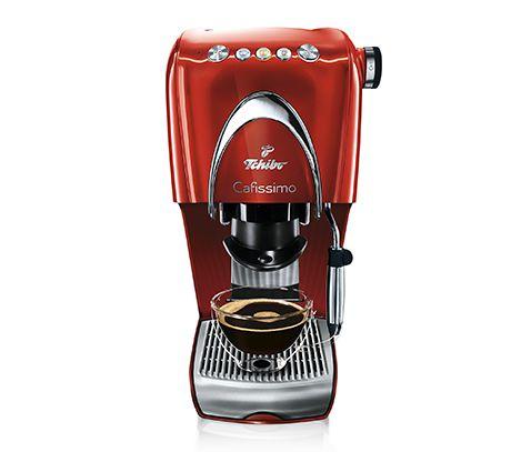 Espresso und Kaffeemaschine mit Dampfdüse Caffissimo Classic, Siebträger siehe Bild.