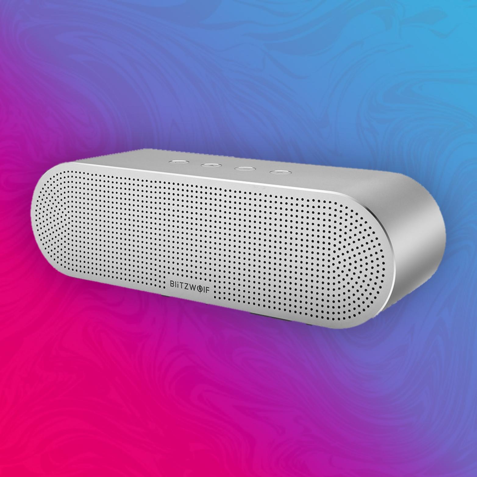 BlitzWolf BW-AS1 - Bluetooth Lautsprecher - 20 Watt - 5200mAh - Aluminiumgehäuse