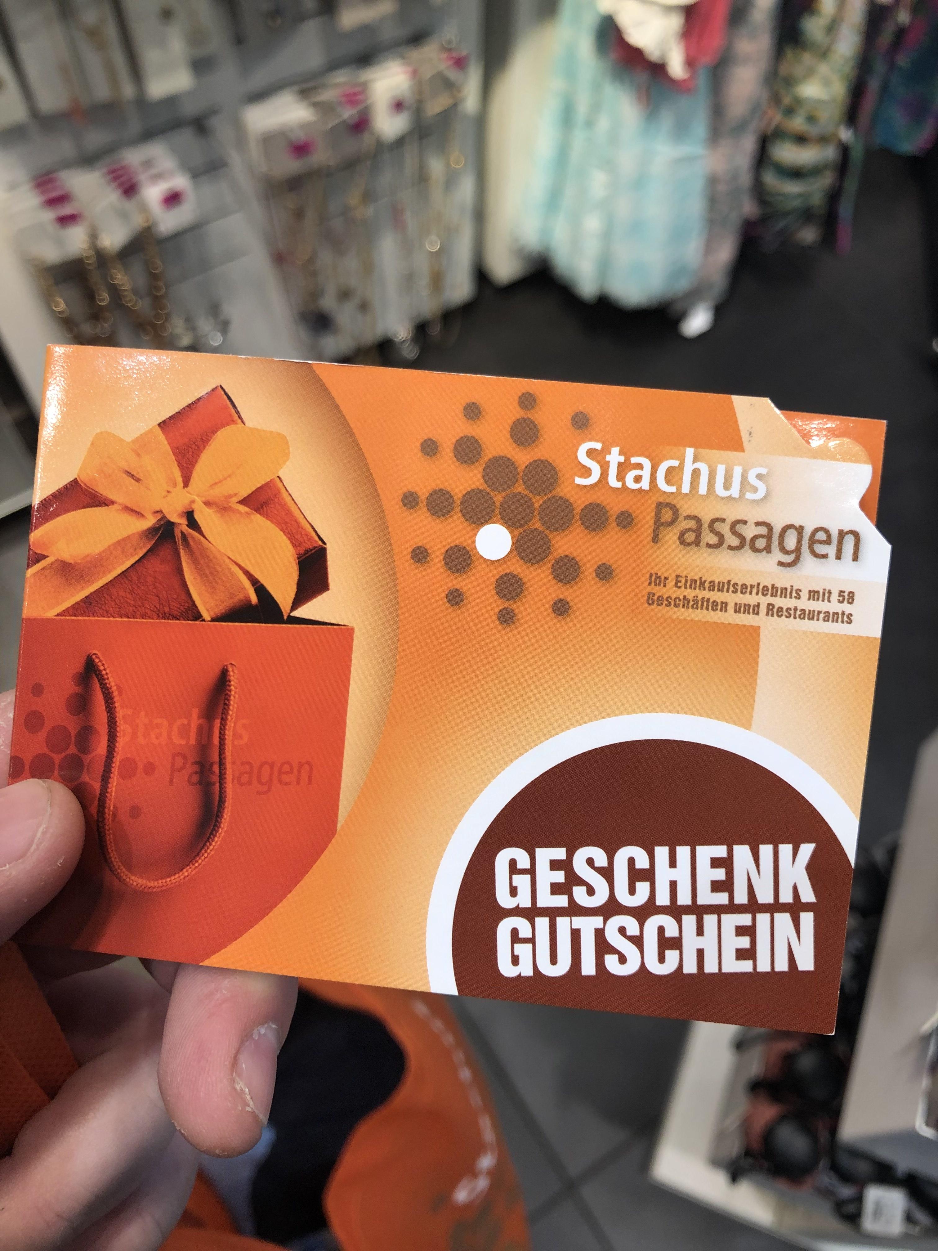 [Lokal München Stachus] 10€ Gutschein für die Stachus Passagen