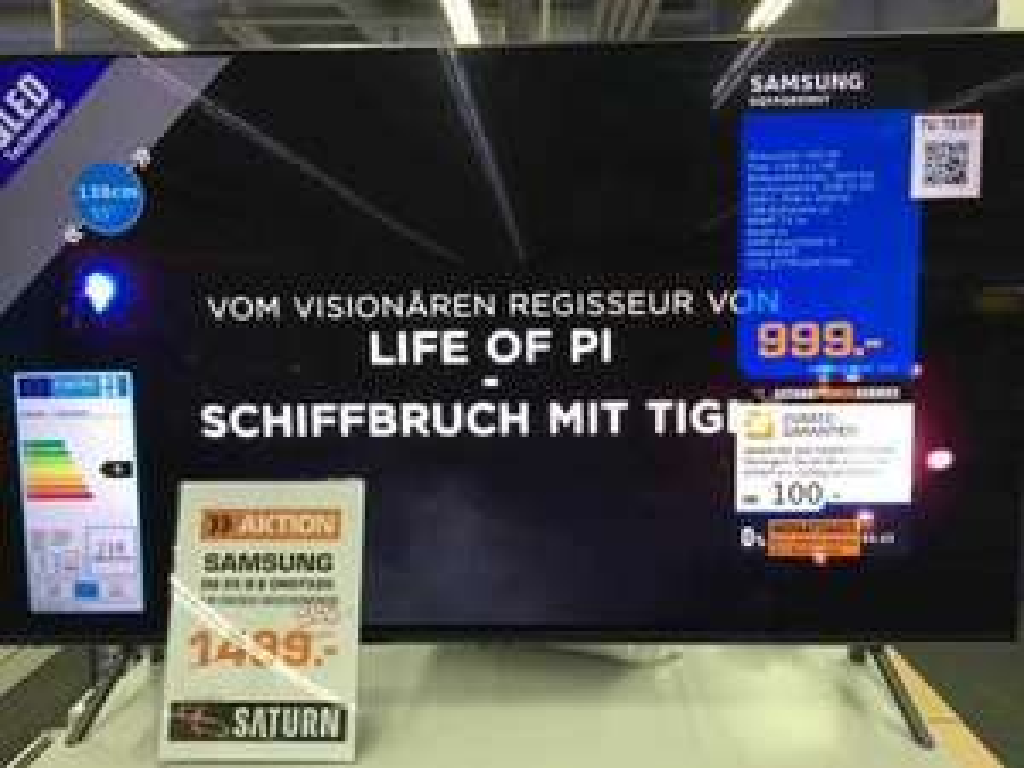 [Lokales Angebot] Samsung GQ 55 Q8 DN Saturn Berlin Treptow