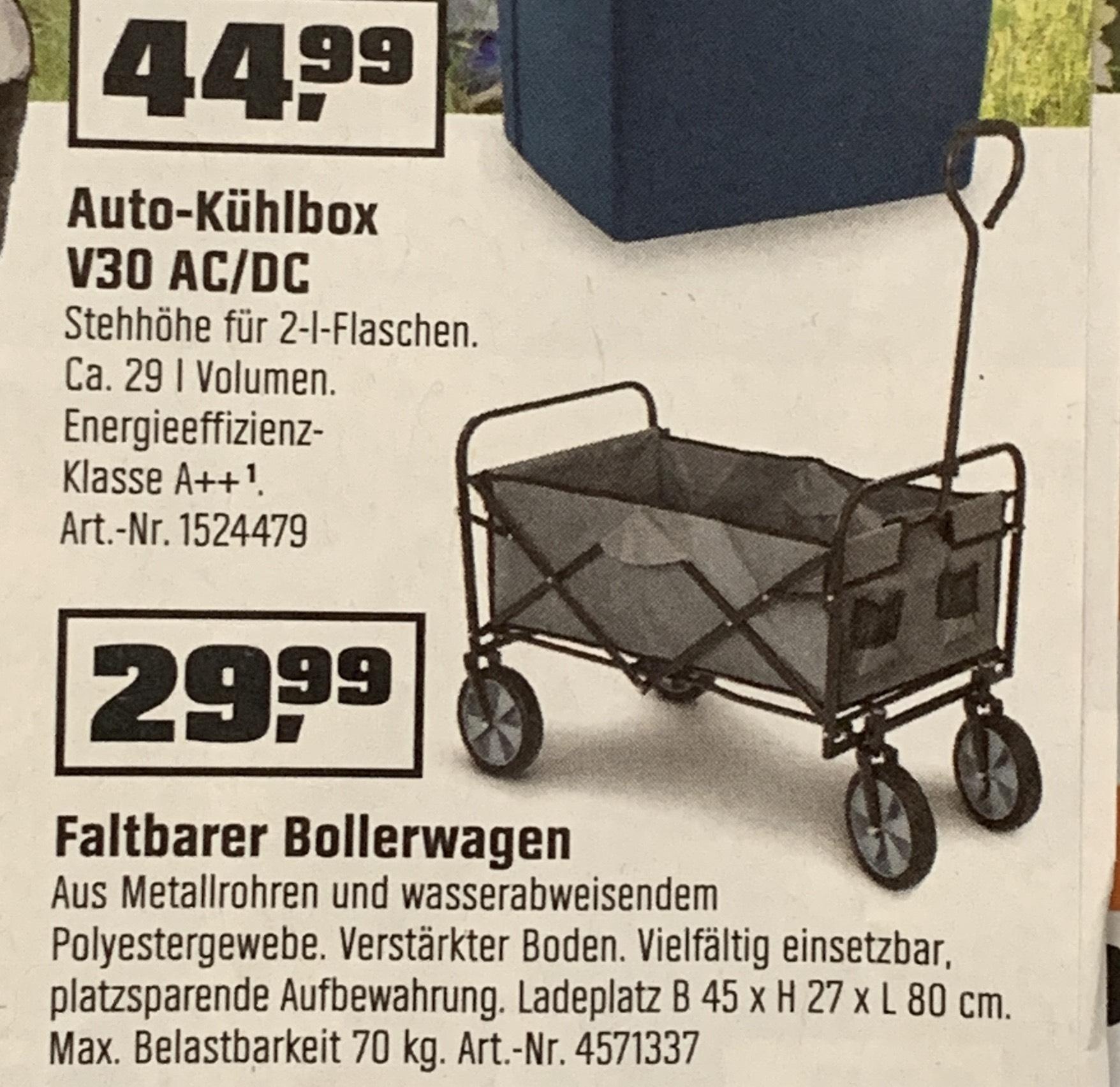 Obi Faltbarer Bollerwagen 70kg 2999 Mydealzde