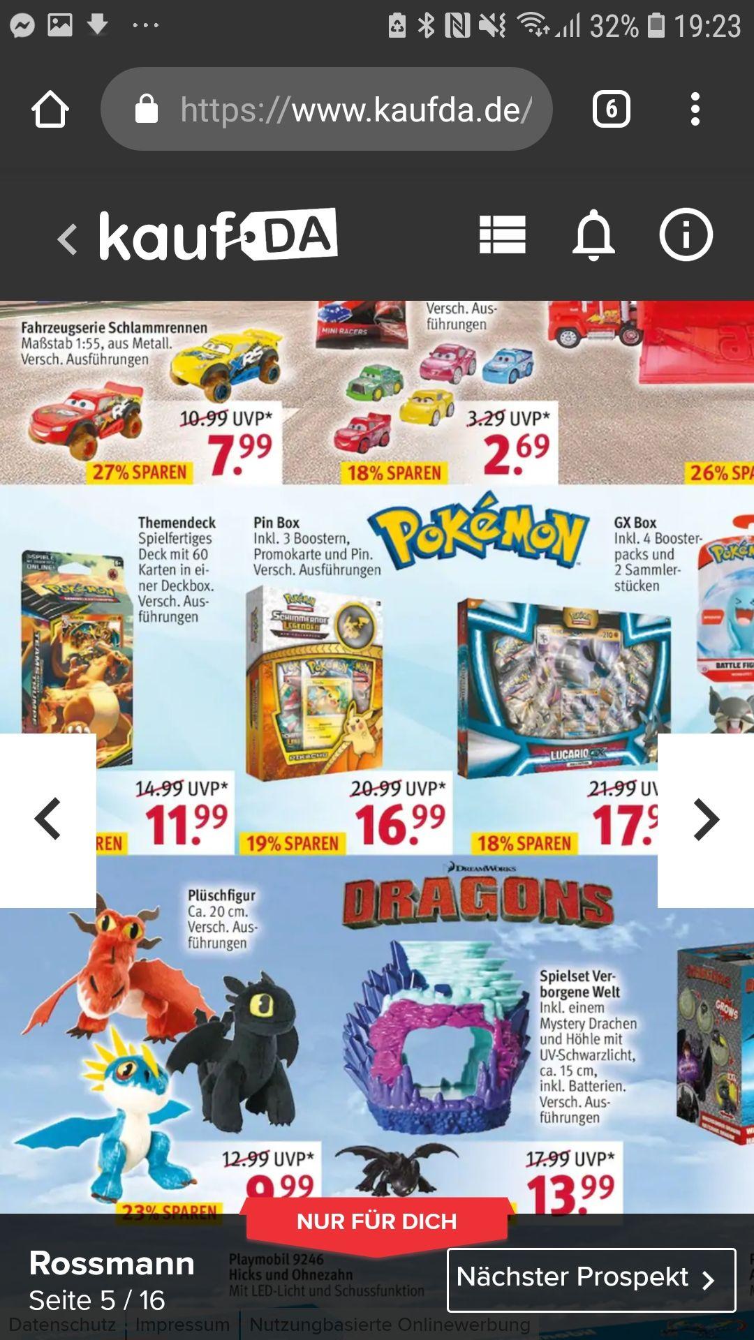 Rossmann Offline Alle Pokemon TCG Blister Decks