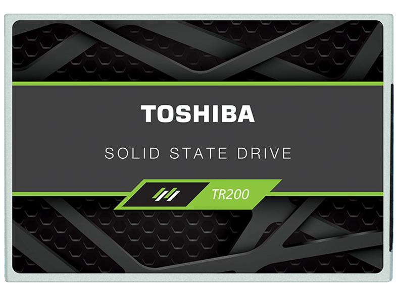 [Mediamarkt] Toshiba TR200 Interne SSD 6.35cm (2.5 Zoll) 240GB Retail TR200 25SAT3-240G SATA III für 29,-€