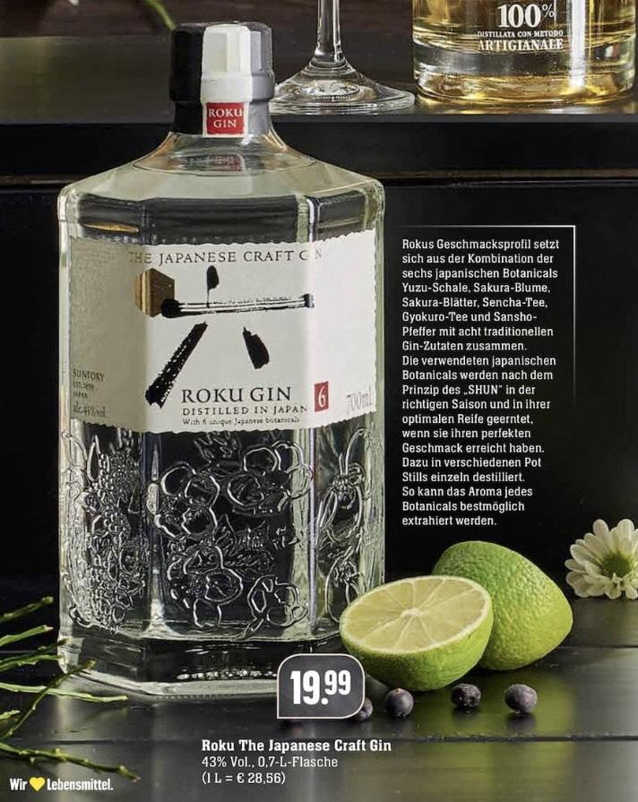 [EDEKA] Roku Gin (1 x 0,7l)