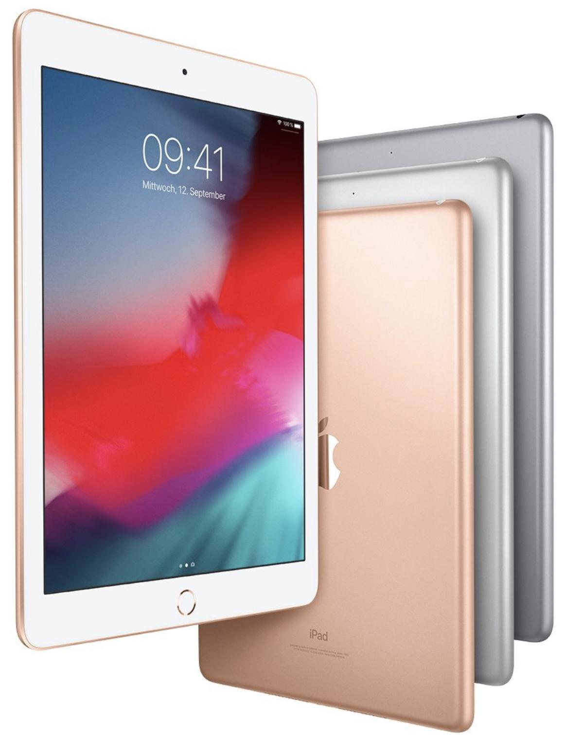 Apple iPad 2018 128GB WiFi in gold, silber u. spacegrau für je 361,87€ oder iPad Pro 11 64GB für 736,70€ direkt von AmazonFR inkl. Versand