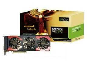 Manli Gallardo Nvidia GeForce GTX 1070 | 8GB GDDR5 | GAMING