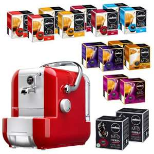 [real,- Onlineshop] 256 A MODO MIO Kapseln + Espressomaschine A MODO MIO Extra 98,84 € (zzgl. 4,95 € VK)