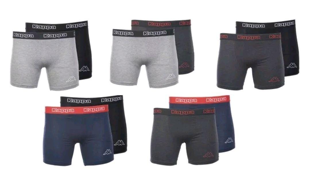 10er Pack Kappa Boxershorts - Farben Mix - S-L-XL-XXL