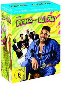 Der Prinz von Bel-Air – Die komplette Serie (Staffel 1-6) [Amazon]