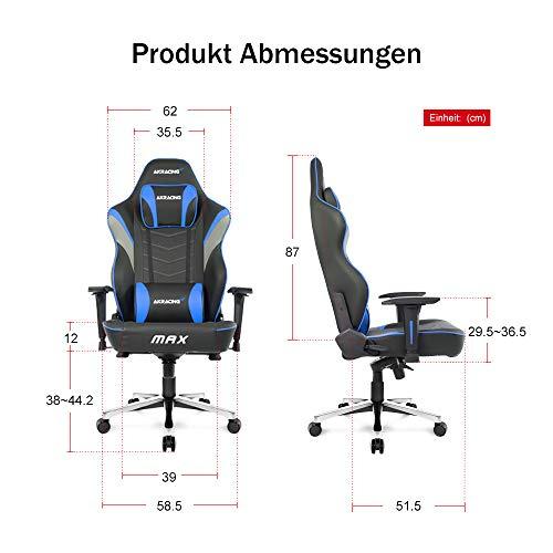 AKRACING Master Max Wide Gaming Stuhl versch. Farben