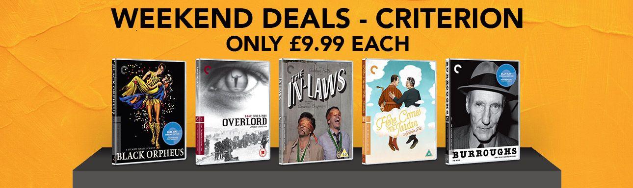 5 Criterion Collection Blu-rays für je 8,99£ + VSK [Zoom]