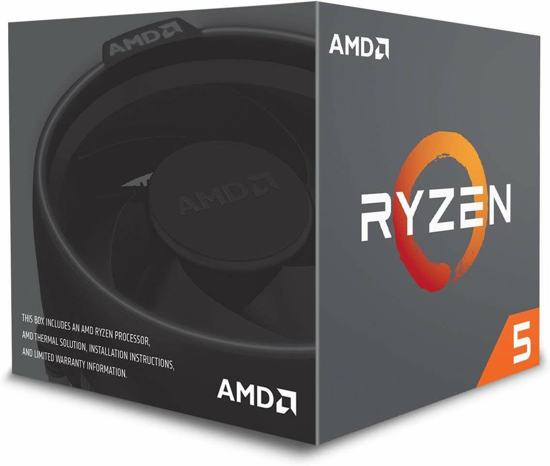 AMD Ryzen 5 2600X Prozessor (Boxed) - 6 Kern, 12 Threads, 3.6GHz mit AMD Wraith Spire Kühler (Mindstar)