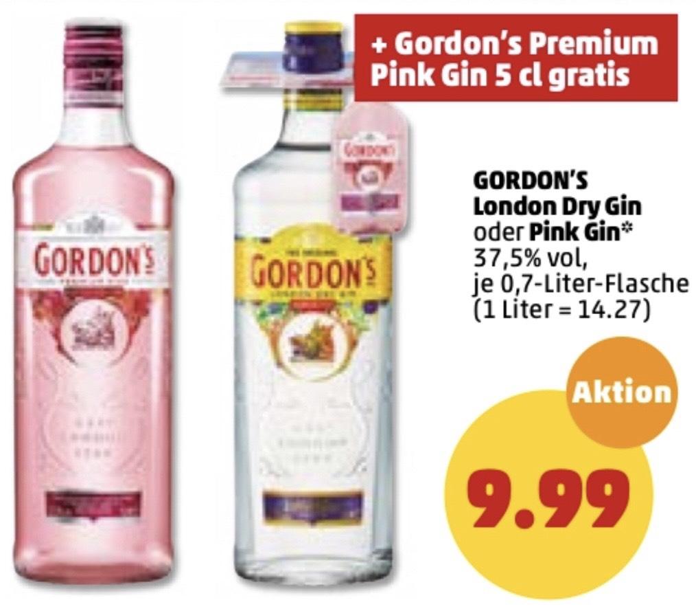 [PENNY] Gordon's London Dry Gin / Pink Gin (1 x 0,7l)