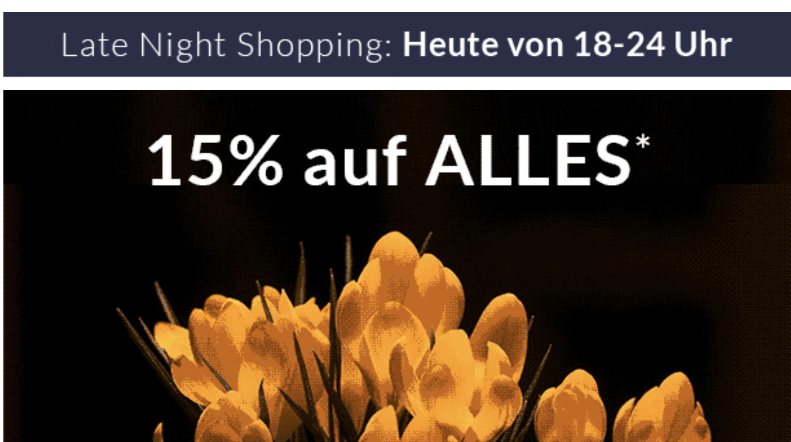 [Schwab] 15% auf Alles ab 18 Uhr (Bestandskunden) + 10 Euro Rabatt ab 30 Euro
