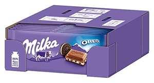 [prime] Milka Oreo Schokoladen-Tafel (22 x 100g)