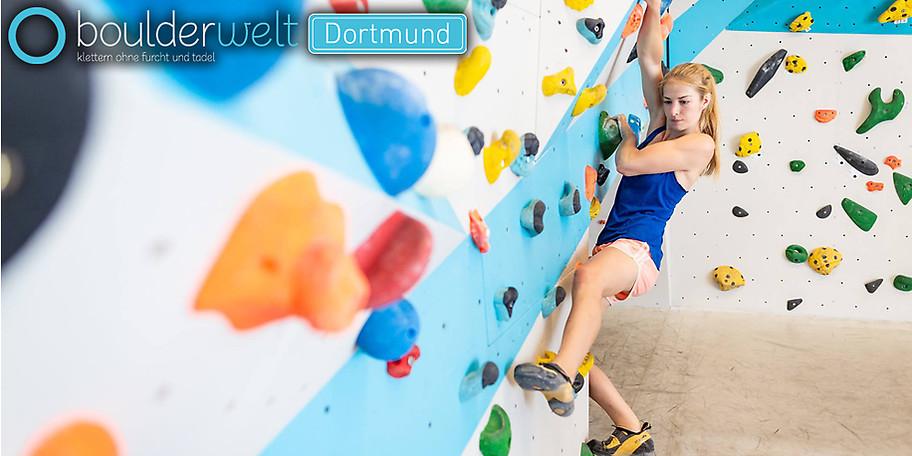 Boulderwelt Dortmund 11er-Karte - 50 % Neueröffnung