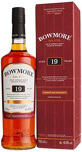 Update: wieder günstiger! [Amazon] Bowmore Islay Single Malt Scotch Whisky 19 Jahre (und andere Bowmores)