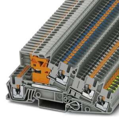 [Elektroshop Wagner] Phoenix Contact PTI 2,5-PE/L/NT Dreistock-Installationsklemme grau (3213946)