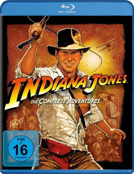 (Thalia Club) Indiana Jones - The Complete Adventures [Blu-ray]
