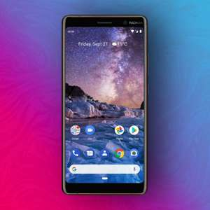 Nokia 7 Plus 64/4GB - Snapdragon 660 - 6 Zoll FHD - NFC: Google Pay - 13MP + 12MP Kamera - Android Pie