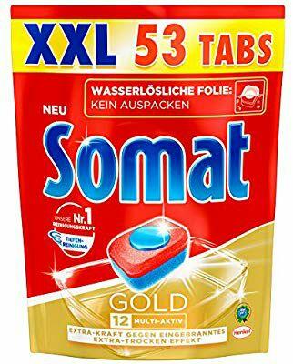 Somat Tabs 12 Gold, 3er Pack (3 x 53 Tabs)  12cent je Vorgang