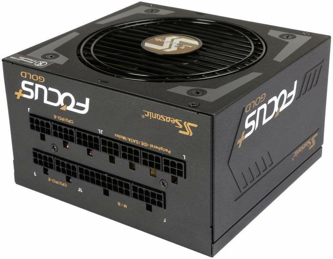 Seasonic Focus 80 Plus Gold 550W Netzteil - vollmodular, semi-passiv, DC-DC, 10 Jahre Garantie (Amazon/NBB)