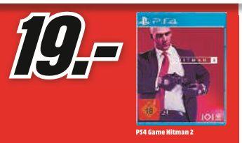 [Regional Mediamarkt Karlsruhe] HITMAN 2 - Standard Edition - [PlayStation 4] für 19,-€