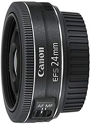 Canon EF-S 24 mm 1:2.8 STM Objektiv schwarz [Amazon]