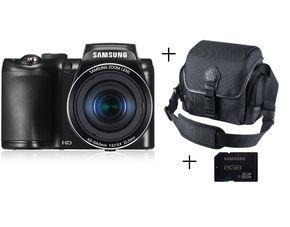 SAMSUNG EC-WB 100 Kamera + Tasche + 8 GB Speicherkarte bei MeinPaket