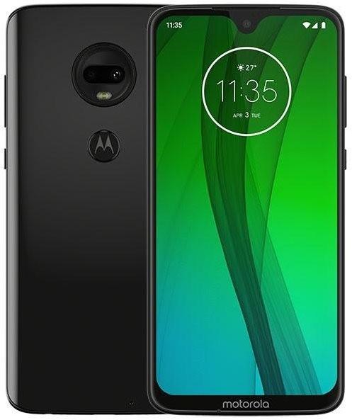 "Motorola Moto G7 - 6,2"" Dual-SIM Smartphone (Android 9, 12/5/8MP, USB-C, NFC) Ceramic Black"