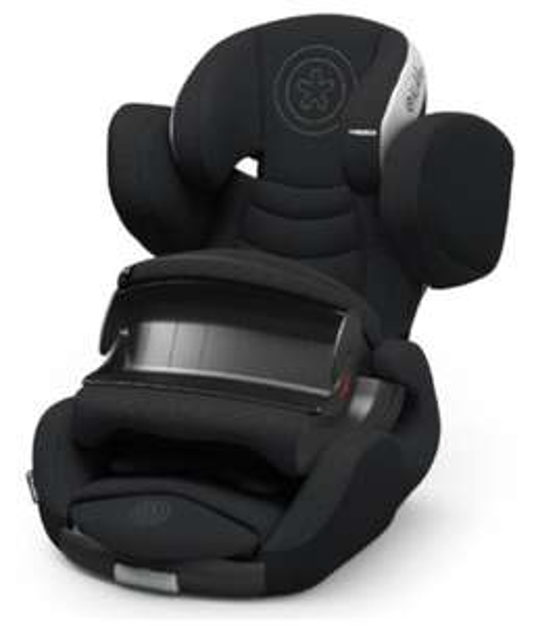 Kiddy Kindersitz Phoenixfix 3 in schwarz / Gr. 1, 9 - 18kg
