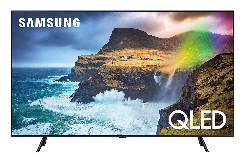 Samsung GQ75Q70RGT - 2019er QLED mit HDR 1000, Direct Full Array, Quantum Dots, Bixby, Alexa uvm. + 350€ Mastercard-Guthabenkarte + 280€ Sportworld-Guthaben