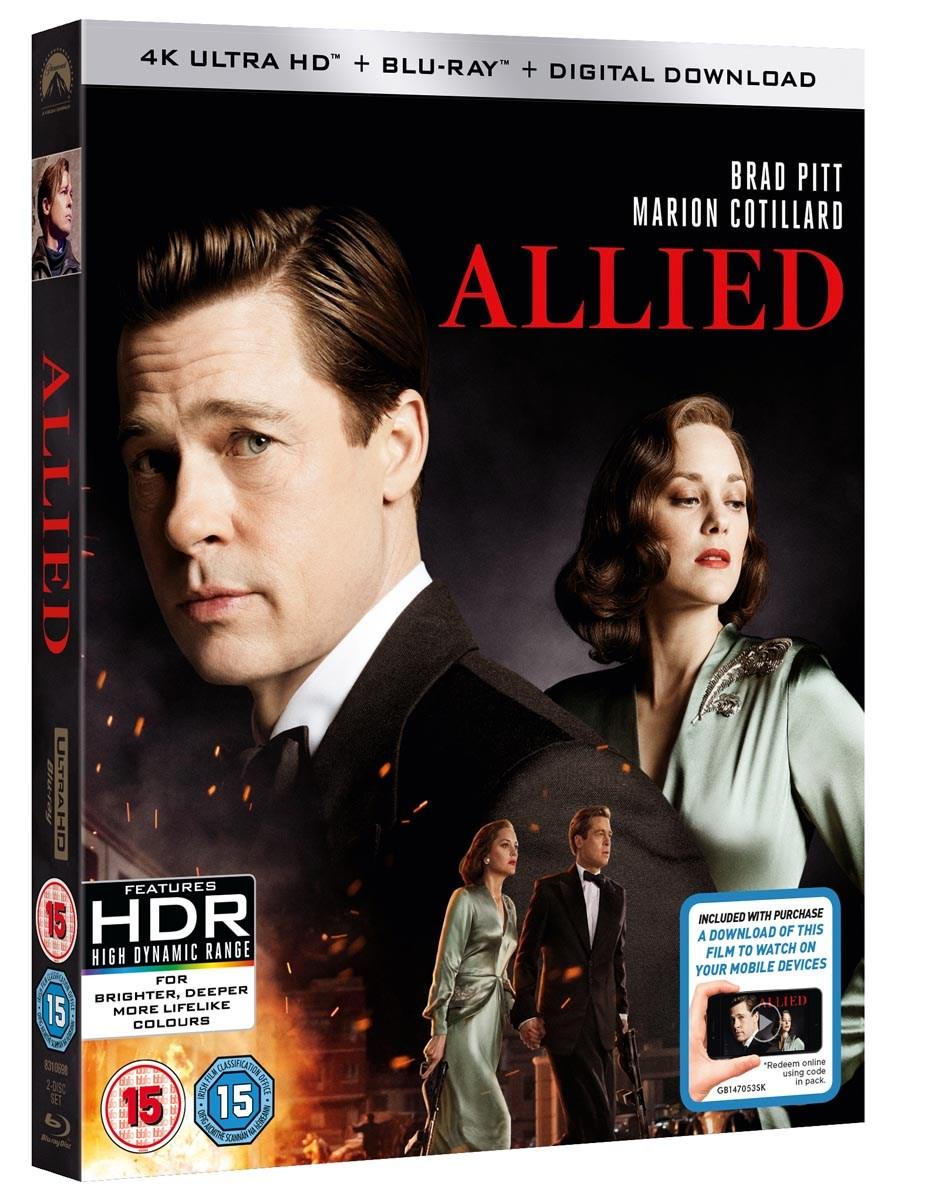 Allied - Vertraute Fremde (4K Blu-ray + Blu-ray) für 12,71€ inkl. Versand (Zoom)