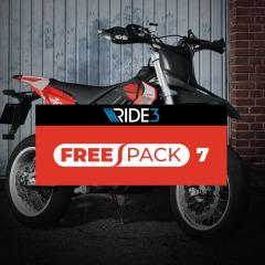 RIDE 3 - Free Pack 7 (PS4 & Xbox One & Steam) kostenlos (PSN Store & Xbox Store & Steam Store)