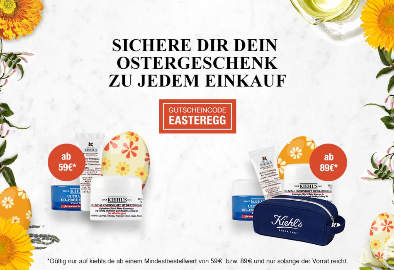 [KIEHL'S] Ostergeschenk zu jedem Einkauf ab 59€ MBW