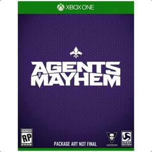 Agents of Mayhem - Day One Edition (Xbox One) für 5,09€ (Grooveland)