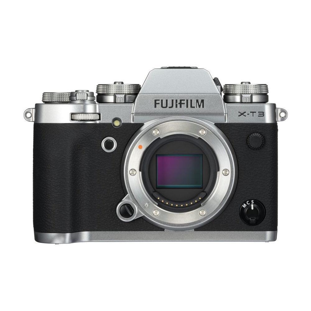 Fujifilm X-T3 (Silber) + NP-W126S