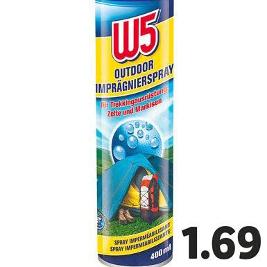 Outdoor Imprägnierspray für Festival-Zelte für nur 1,69€ bei ( Lidl ab 23.4.)