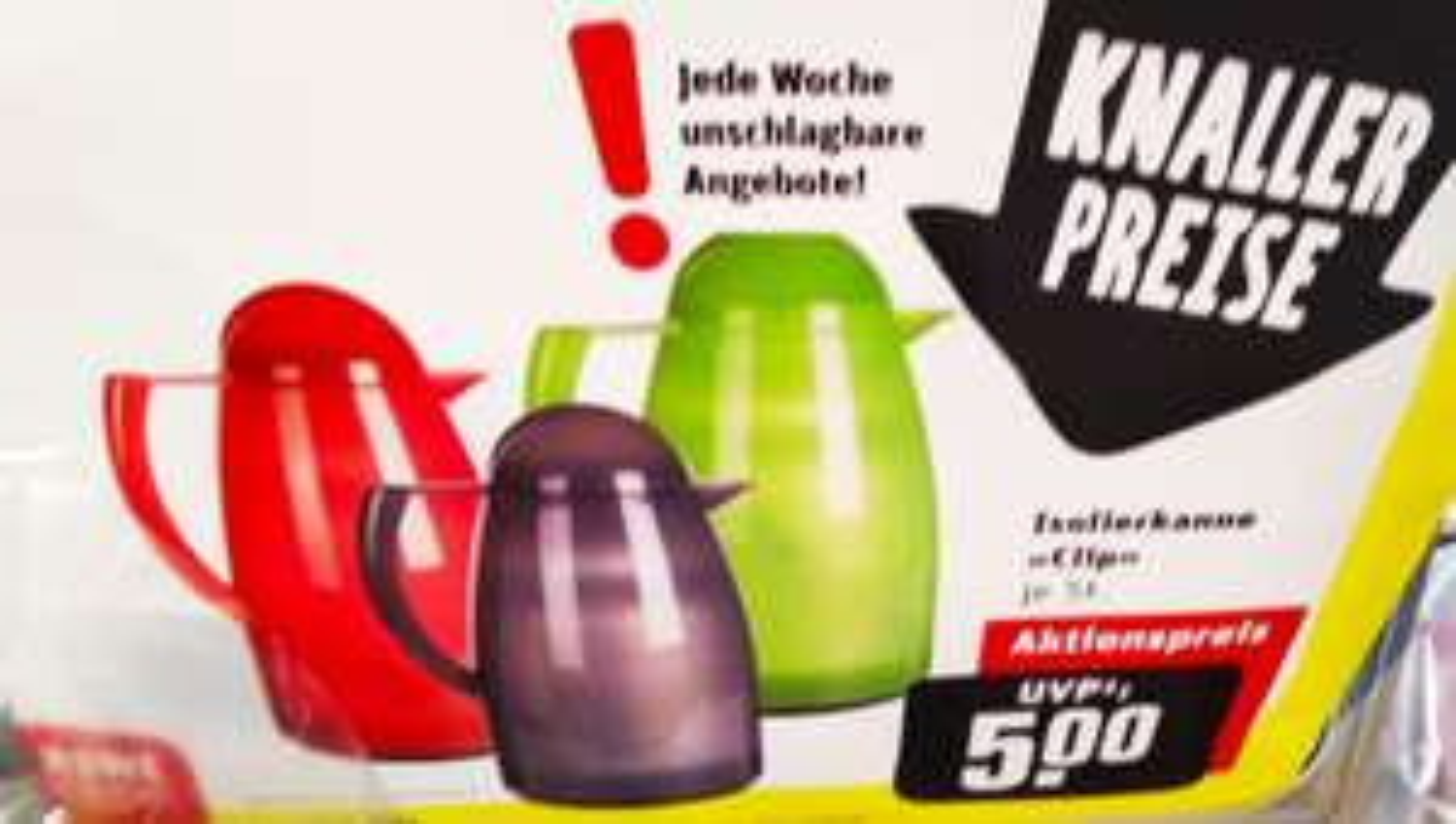 LOKAL? REWE-Center Bad Nauheim] Isolierkanne Makutec Clip (2 Liter)