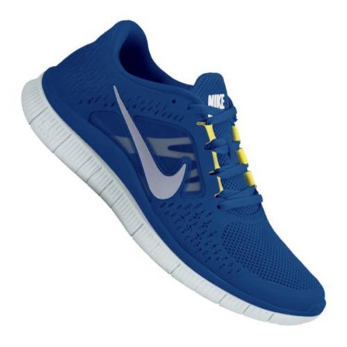Nike Free Run+ 3 Running Mens Blau  für 56€ bei 11teamsports
