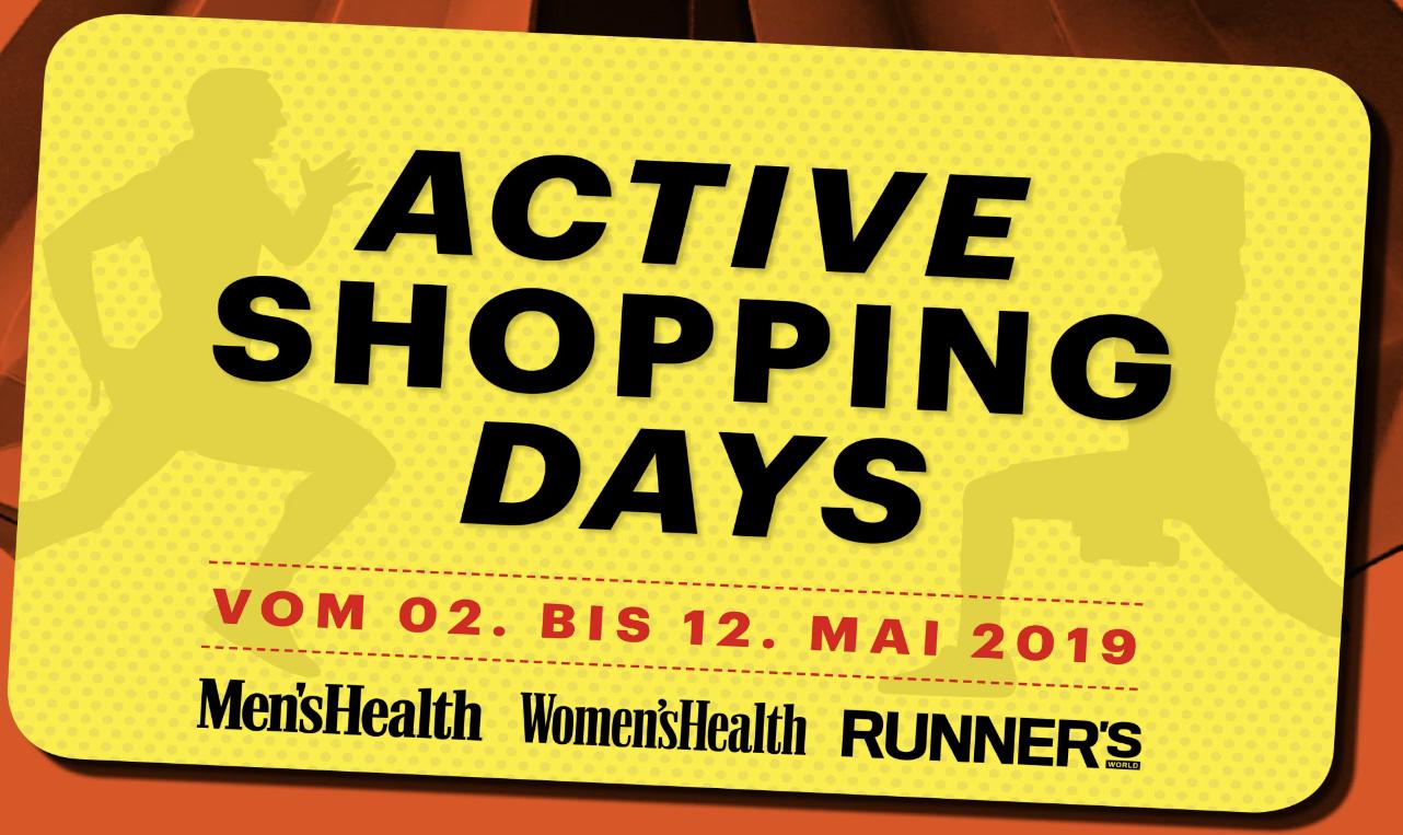 ACTIVE SHOPPING DAYS - DER Einkaufs-Offensive für Deinen aktiven Lifestyle!
