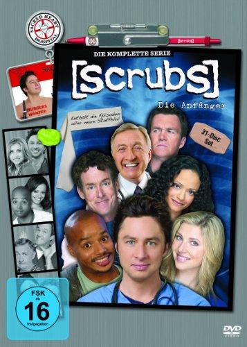 Scrubs: Die Anfänger - Die komplette Serie, Staffel 1-9 (31 DVDs) für 30,33€ (Amazon & Thalia)