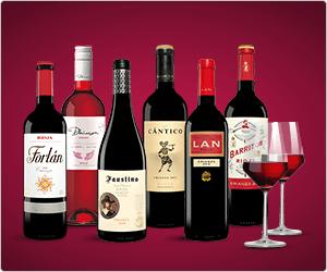 [WEB.Cent Osterdeal] [für GMX Pro- & Top-Mail User] [Nur Vinos Neukunden] 2 Weingläser Schott Zwiesel + 6 Rioja-Weine für effektiv 4,90€