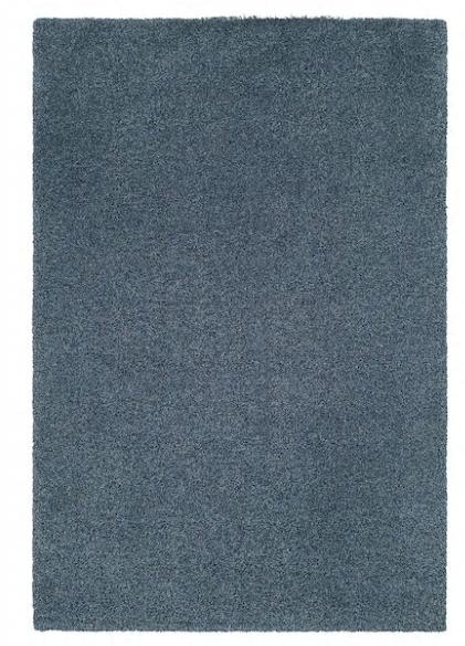 (IKEA Brinkum) KLEJTRUP Teppich Langflor, blau, 160x240 cm