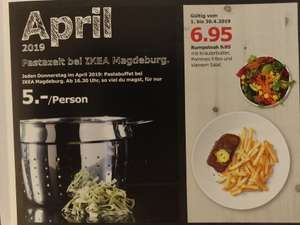 [IKEA Magdeburg] Pastabuffet jeden Donnerstag im April ab 16:30